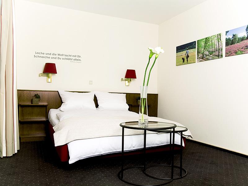 Doppelzimmer: Ein Raum zum Wohlfühlen.